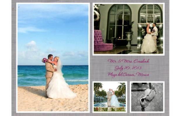 Gary & Kristy, Riu Palace Mexico, Playa del Carmen