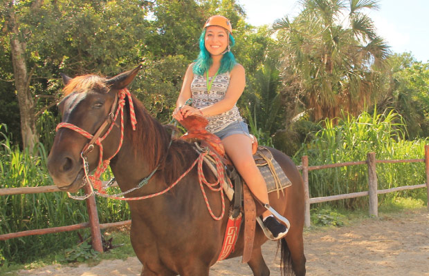 Horseback Riding in Cancun at Bonanza Ranch