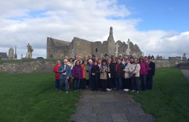 Gaelic Park Group at Clonmacnoise, Ireland