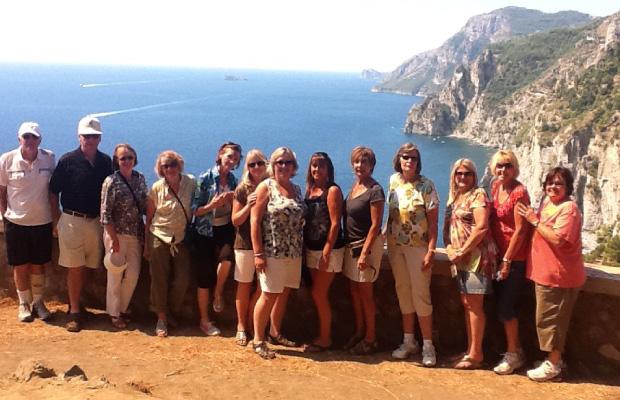 Overlooking Positano, Italy