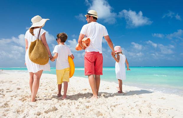 Beach Family Trip