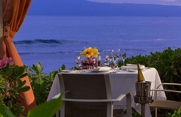 Oceanside Dining at the Hyatt Maui