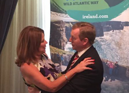 Lunch with An Taoiseach Enda Kenny, Prime Minister of Ireland