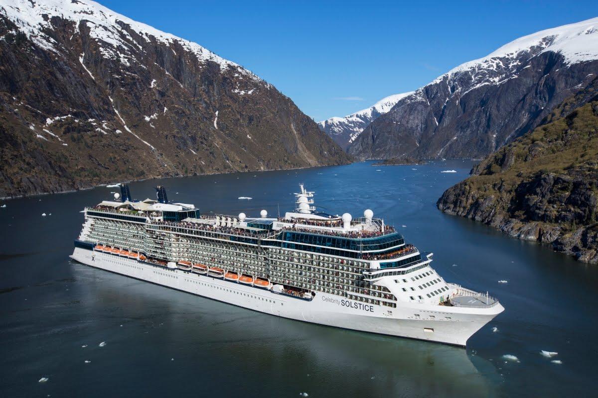 Celebrity Cruises, Alaska Northern Glacier from Vancouver ...